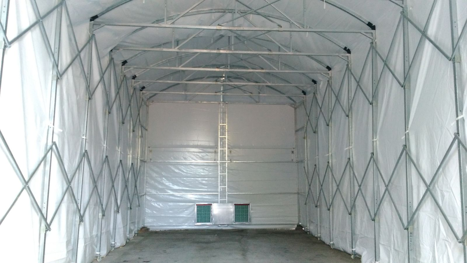 Spray Booth with water treatment Plant AUA