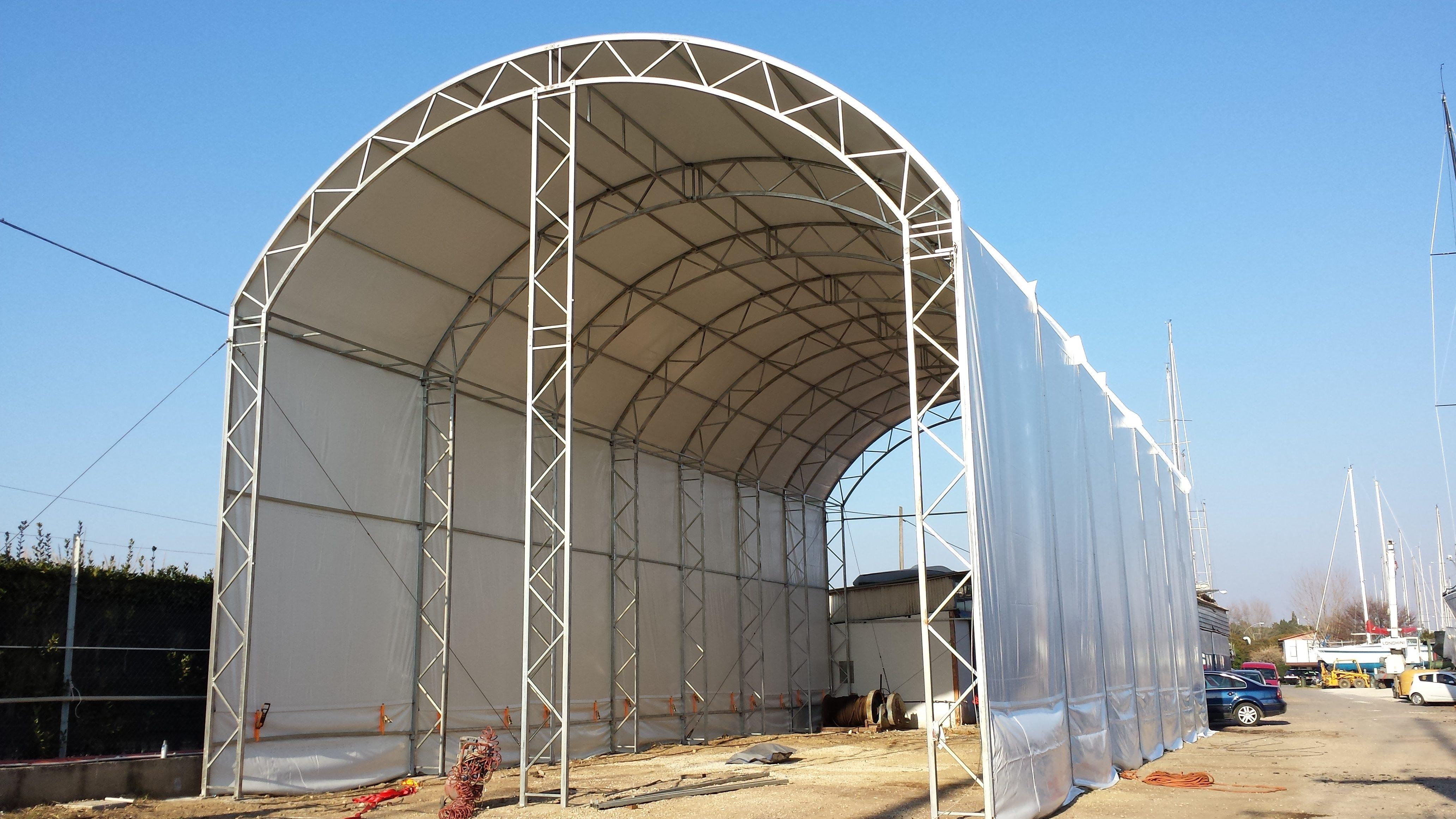 capannoni in PVC