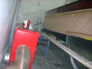 cabina di verniciatura