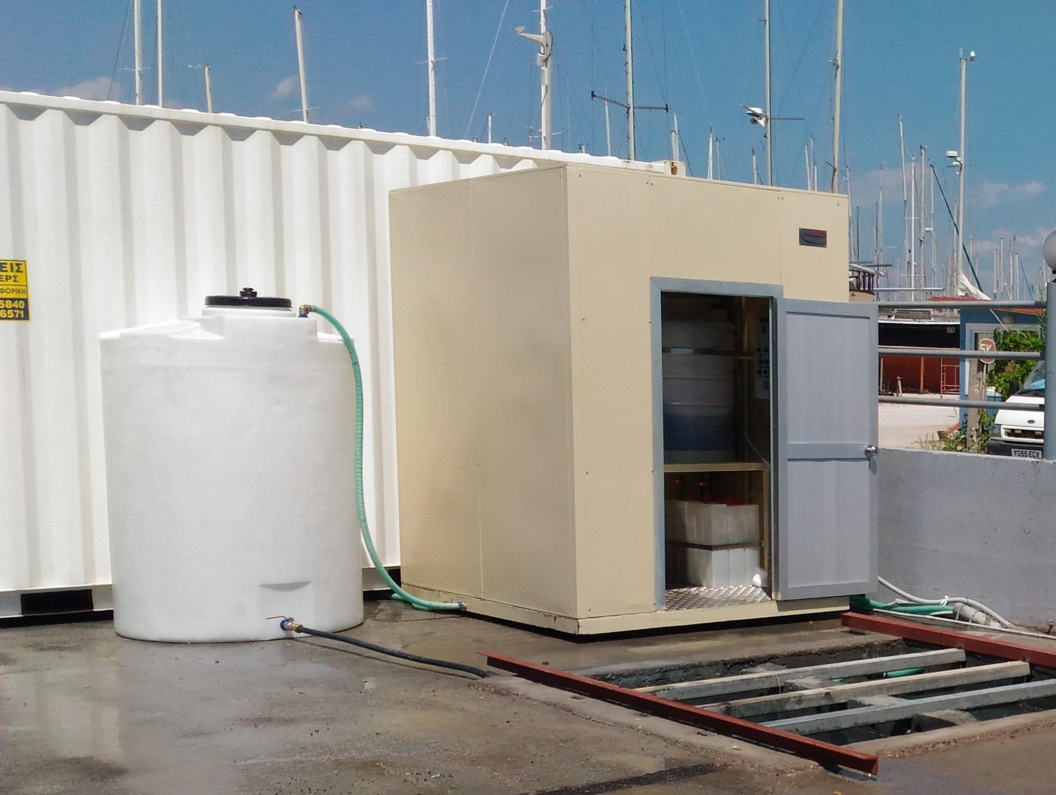 Depuratore Acque Cantieri Navali WT002