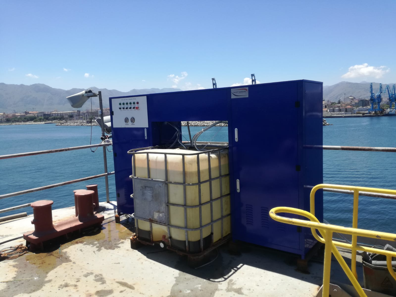 depuratore cantiere navale