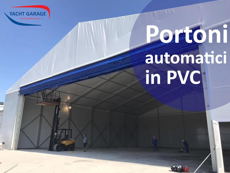 Portoni automatici in PVC