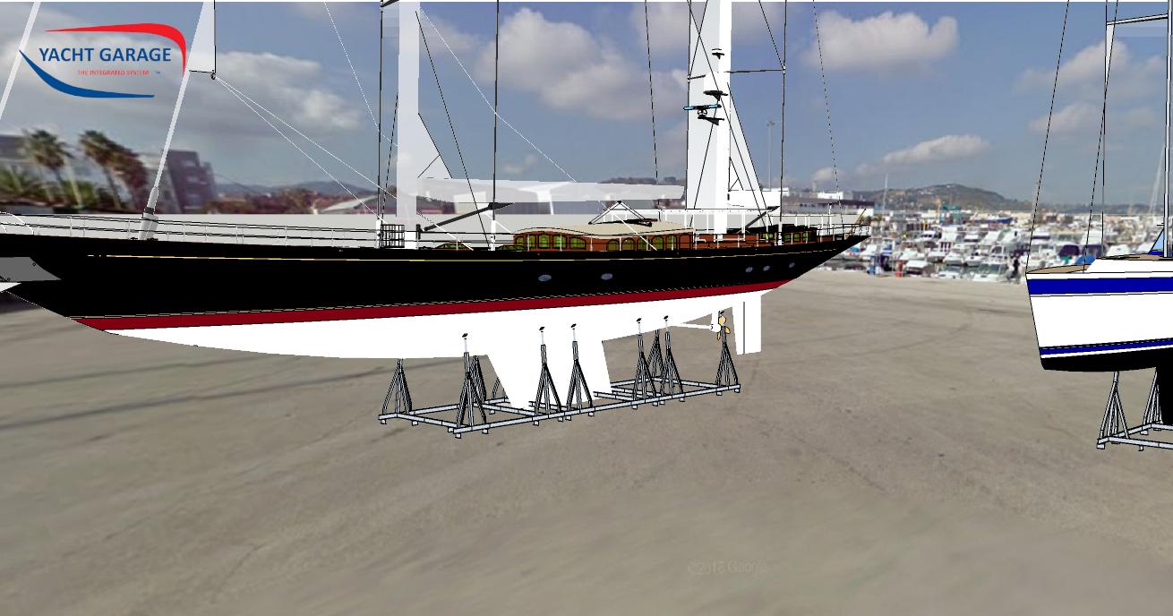 Supporti Modulari per imbarcazioni