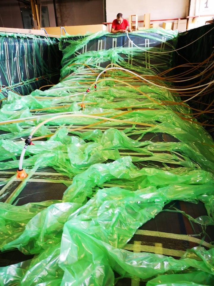 Emissioni nella produzione con processo di infusione
