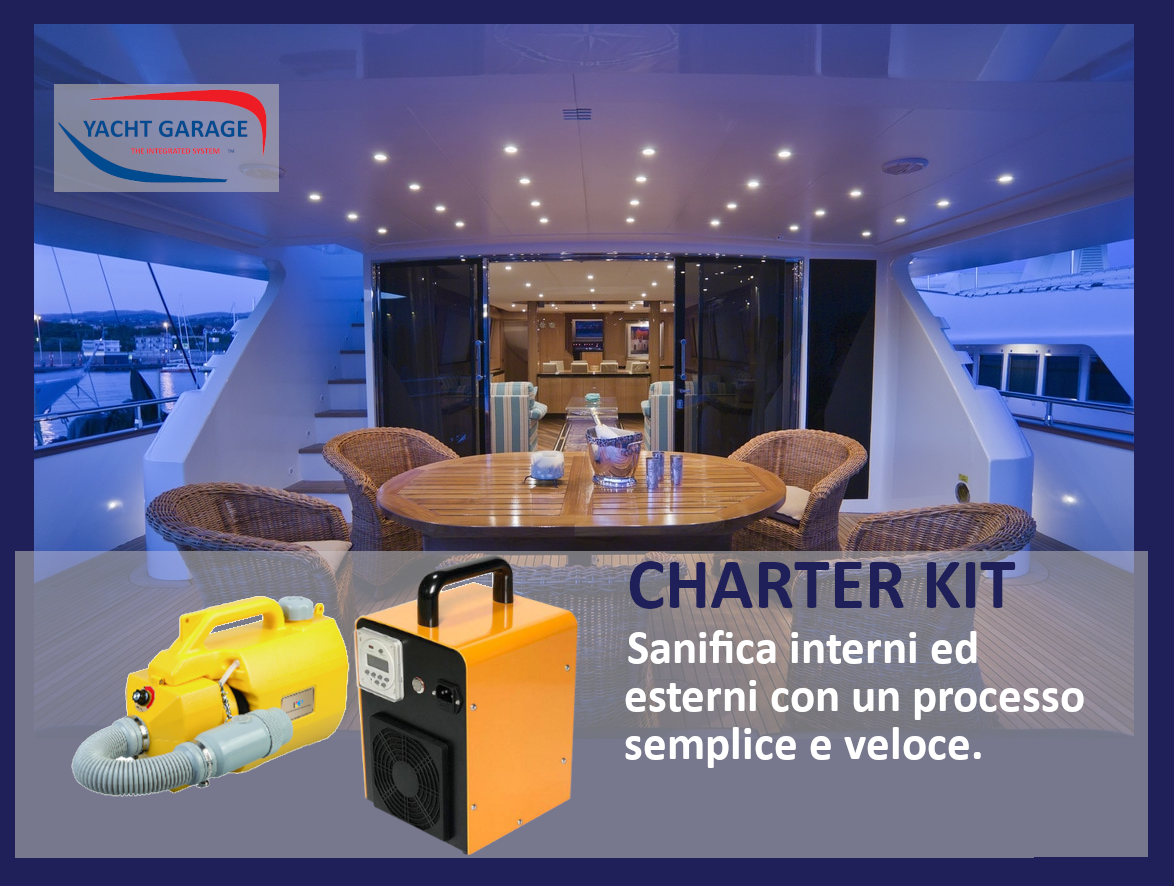 Kit Sanificazione Yacht Charter