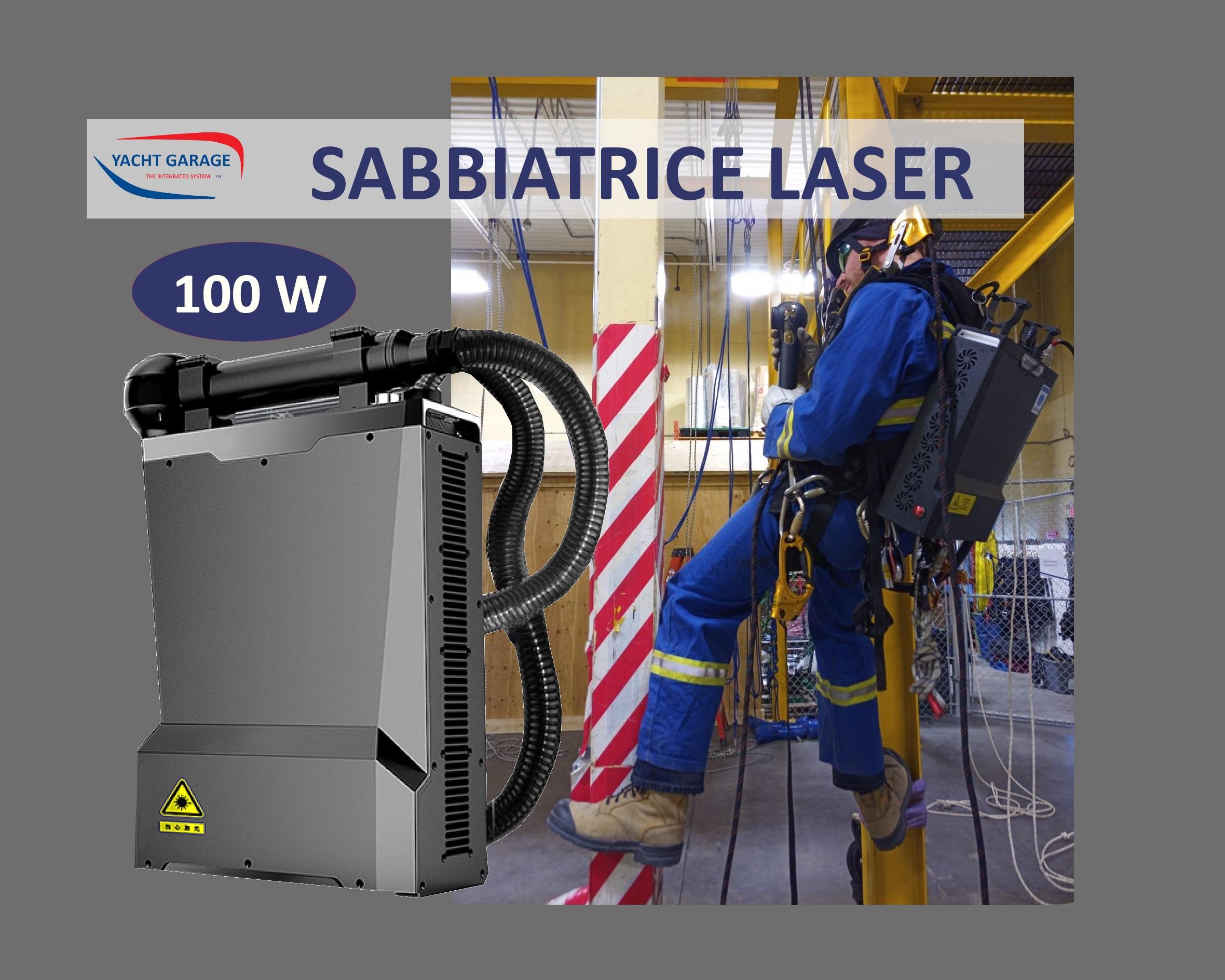 sabbiatrici laser portatili